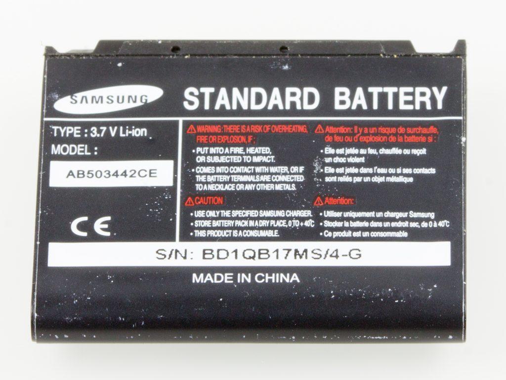 Samsung Graphene battery.