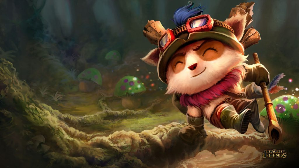 teemo's adventure riot games lol