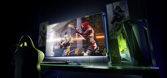 Nvidia's BFGD rolls out at CES 2018 (via Nvidia).