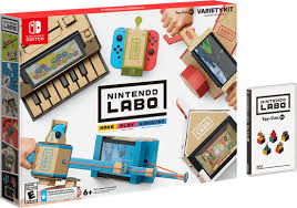 Nintendo Labo is coming soon.