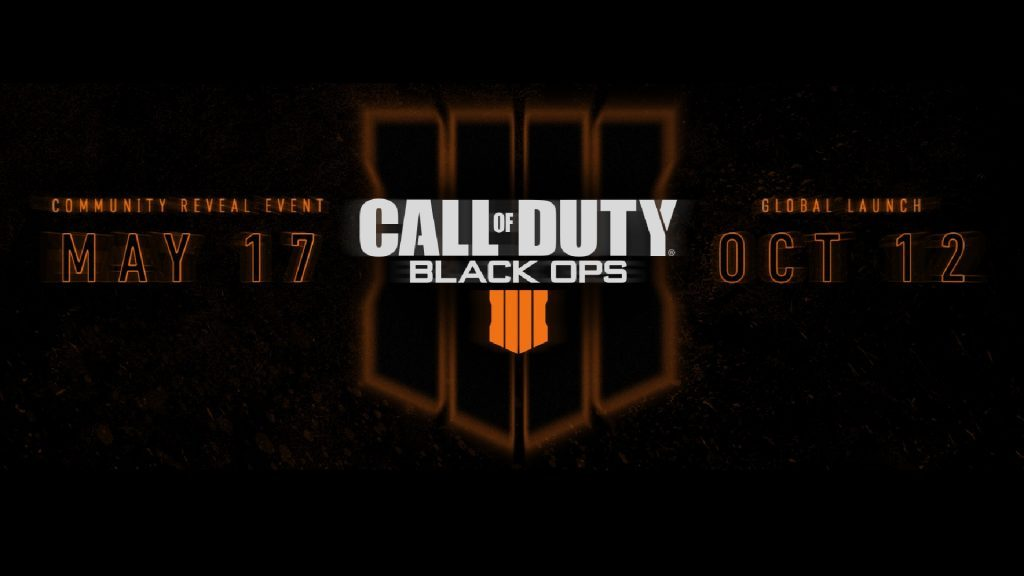 Black Ops IIII is set for release.