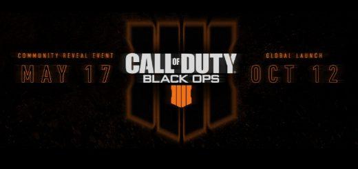 Black Ops IIII is set for release.