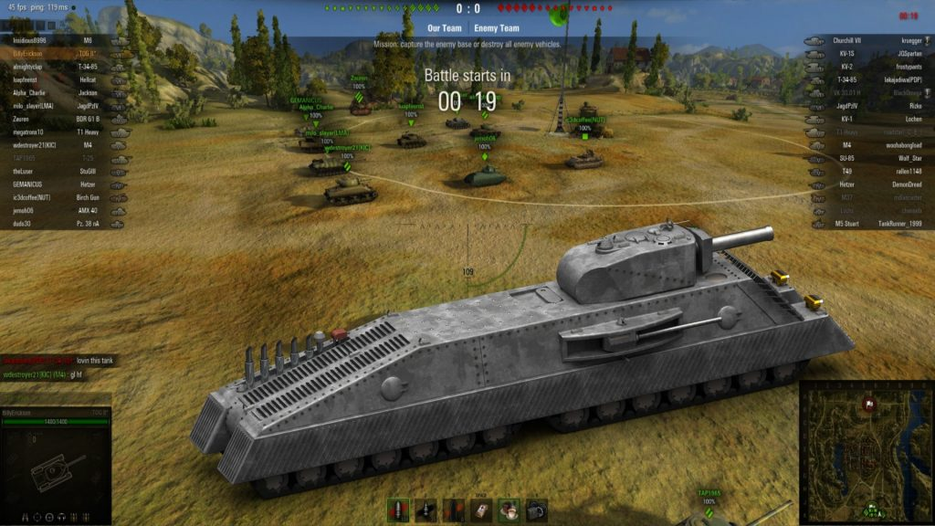 WoT gets a new content update for consoles only.