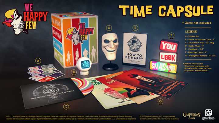 We Happy Few - Pre-order goodies and instant $10 savings 3
