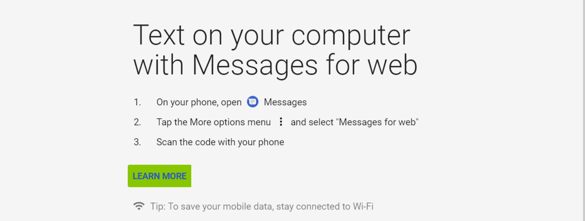 Google launches Messages for Web - text from your computer 11