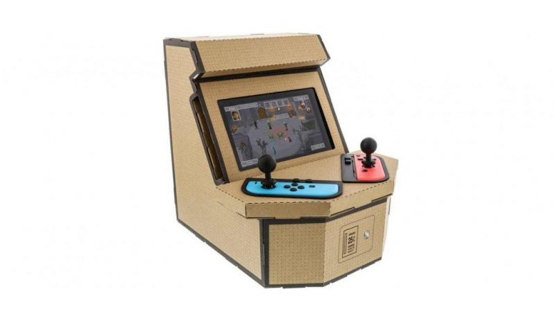 Nyko making a Labo that turns your Switch into a retro arcade