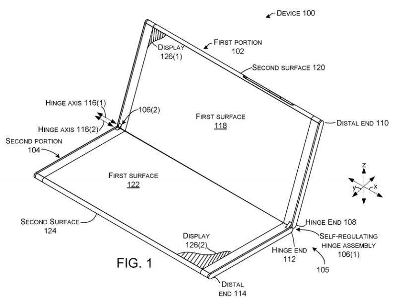 """Microsoft's """"Surface Phone"""" Andromeda Will Have Dual Screens and Hinge 1"""