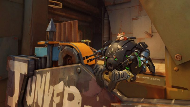Wrecking Ball joins the Overwatch Crew 1