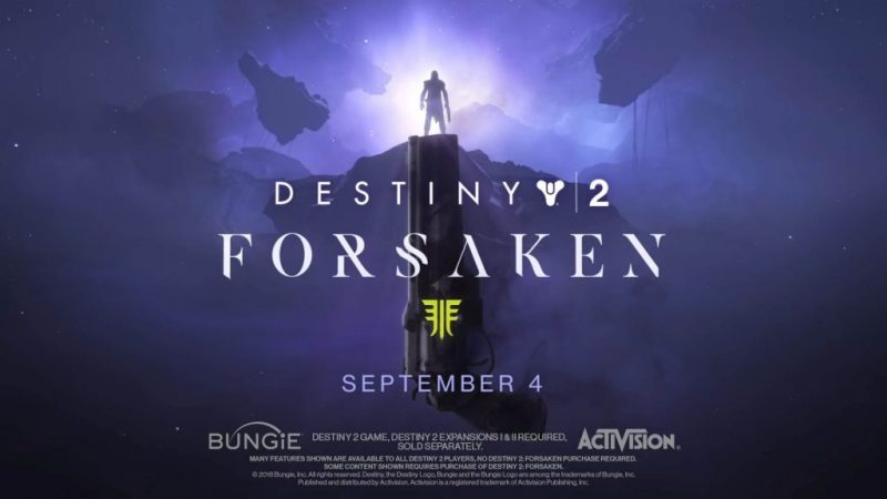 Destiny 2: Forsaken DLC adds a ton of new weapons 11