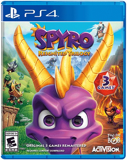 Spyro Reginited Trilogy: Two games are DLC, what about the last? 2
