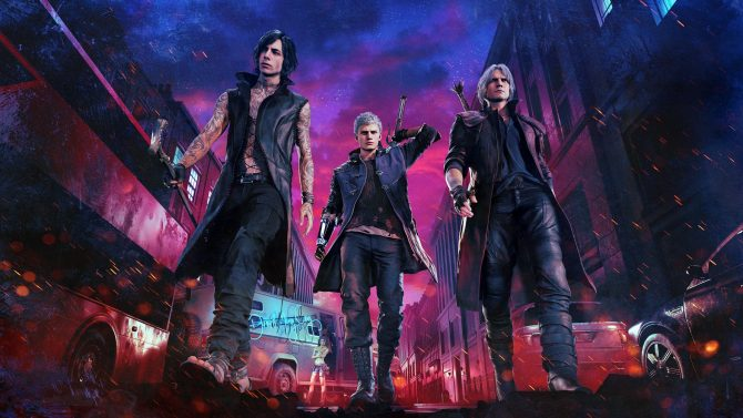 Devil May Cry 5 new key art, pricing, and Deluxe Edition goodies revealed 19