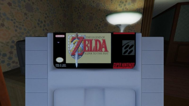 Gone Home for Nintendo Switch includes real, licensed SNES titles 2