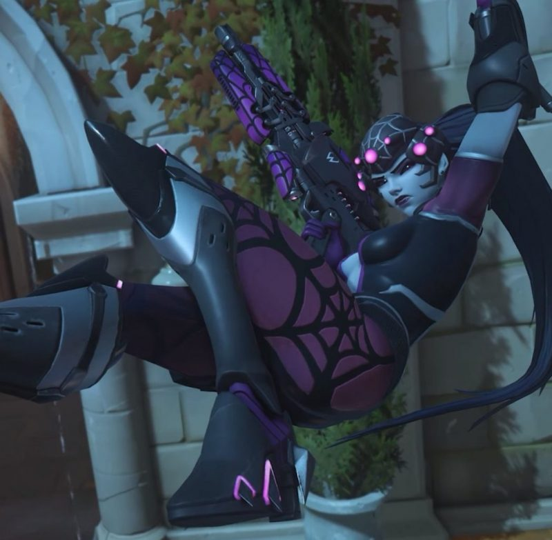"""Overwatch """"Spider Windowmaker"""" skin leaked 8"""