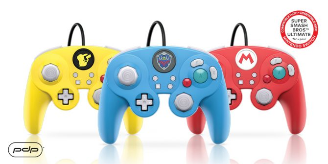PDP announces exclusive Super Smash Bros. Ultimate GameCube Controllers 2