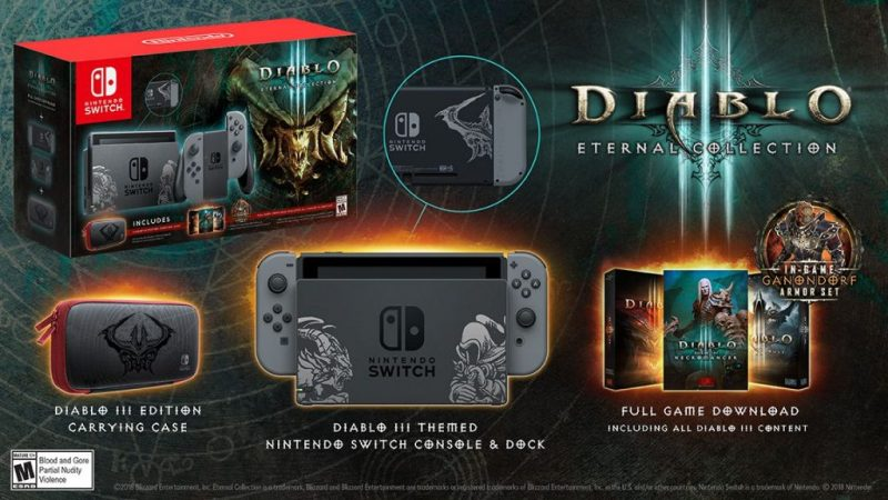 Nintendo Switch Diablo bundle revealed; Get the details 14