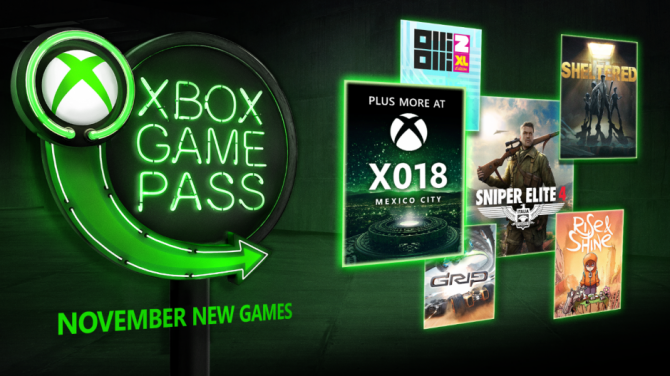 New titles coming to Xbox Games Pass; Sniper Elite 4, Sheltered, and more 1