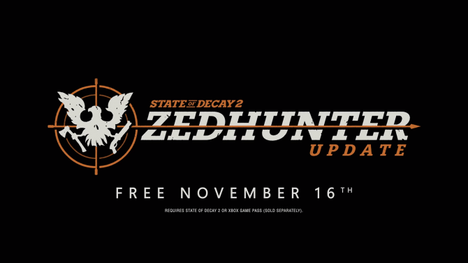 State of Decay 2 getting a free DLC pack called Zedhunter - Stealth, crossbows, and gear 4