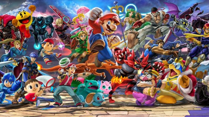 "Nintendo releases series of videos demonstrating ""chain smashing"" in SSBU 12"