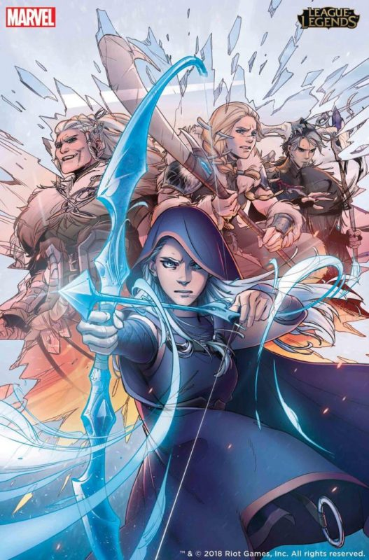 Riot Games and Marvel partner up to release full-length comic featuring Ashe 14