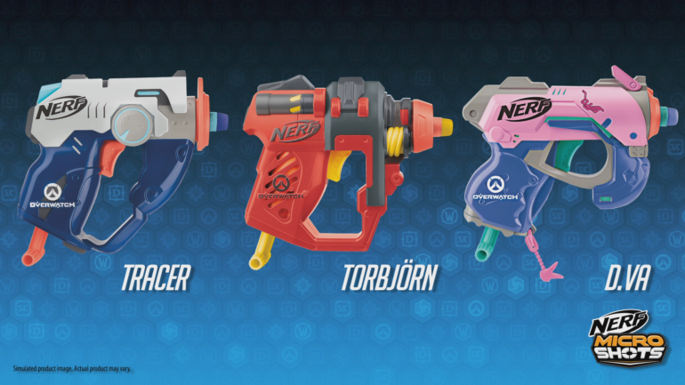 Blizzard reveals Overwatch Nerf gun replica lineup; McCree's Peacekeeper added 1