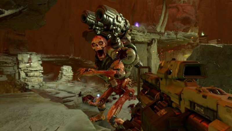 DOOM for Switch gets a special update for DOOM's 25th anniversary 9