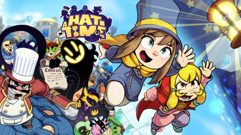 Hat in time ps4 co op