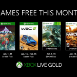 Xbox January 2019 Games with Gold (GWG) announced