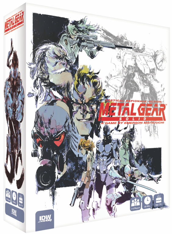 Metal Gear Solid: The Board Game announced by IDW Games and Konami 14