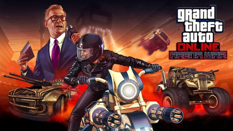 GTA Online getting new game mode Arena War; Twisted Metal-like experiment 2