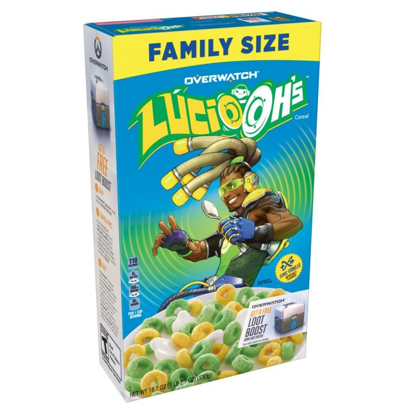 Lucio-Oh's Overwatch cereal spotted at Walmart 1