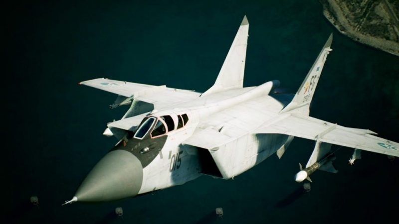 New Ace Combat 7: Skies Unknown aircraft profile released - Russian MiG-31B 18