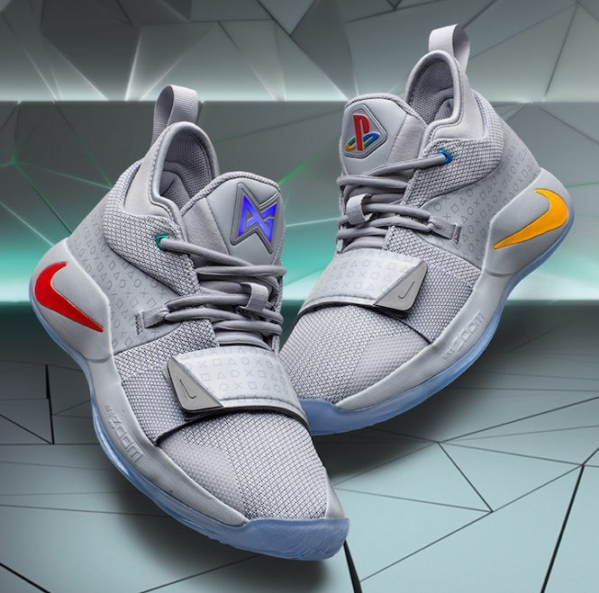 "Nike's PG 2.5 X PlayStation Colorway shoes have a secret ""glow"" option 2"