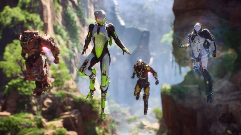 New Anthem gameplay footage released; Destiny 2 comparisons unsettle 2