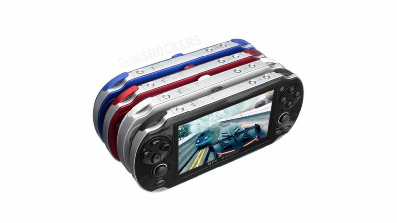 SouljaGame Handheld is a $100 PS Vita knock-off 3