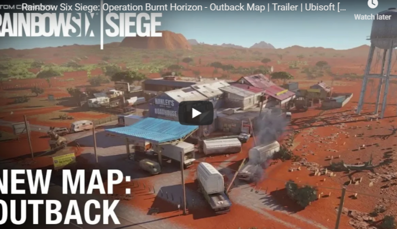 Rainbow Six Siege's new map will be in the Australian outback 1