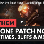Anthem day one patch details notes.
