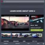 HumbleBundle has a promo for GRID- a full copy of GRID 2 for free and the DLCs.