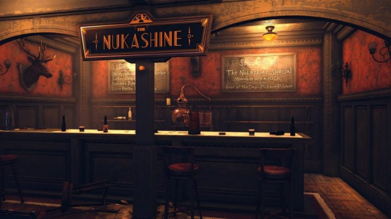 Fallout 76's brew update looks awesome.