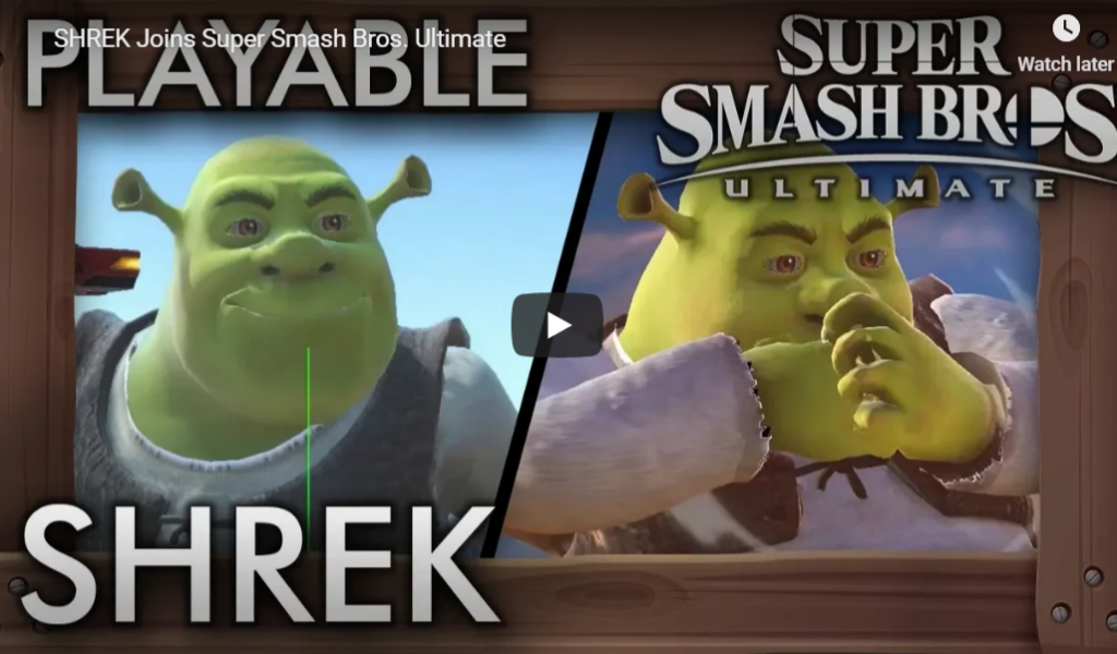Shrek in SSBU?