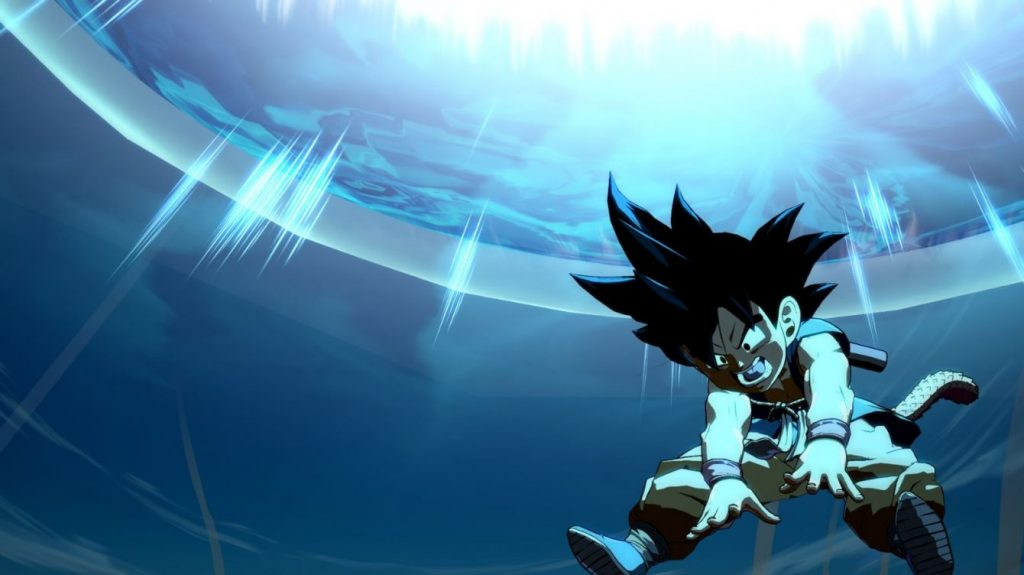 Bandai Namco will be adding Kid Goku in Dragon Ball Fighter Z.