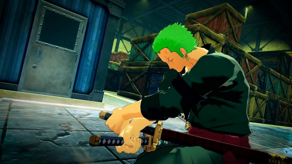 Zoro will be a playable character in One Piece World Seeker's DLC, The Void Mirror Prototype.