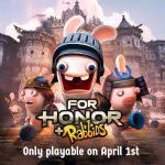 Rabbids will be in For Honor on April Fool's Day.