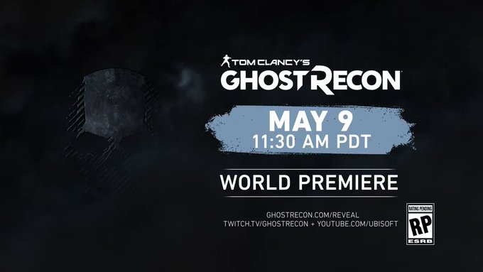 New Ghost Recon game revealed on Twitter.