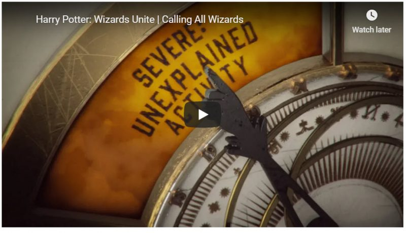 Harry Potter: Wizards Unite new trailer, release date soon? 1