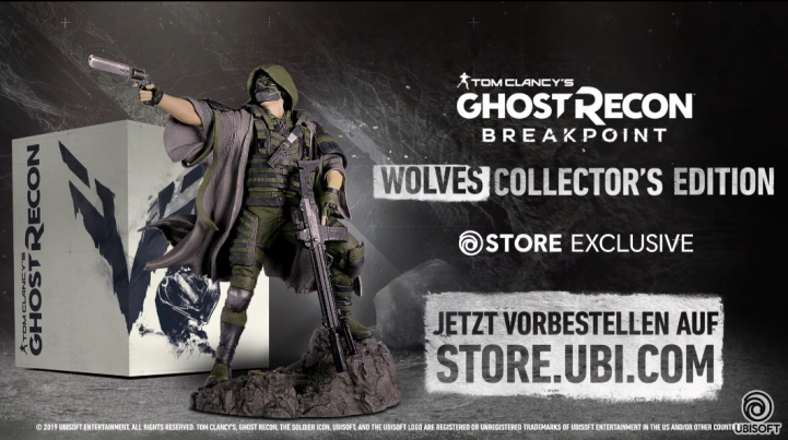 Ghost Recon Breakpoint has been leaked on the Ubisoft Store.