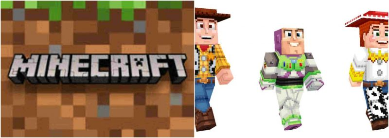Minecraft: Play as your favorite blocky Toy Story character 1