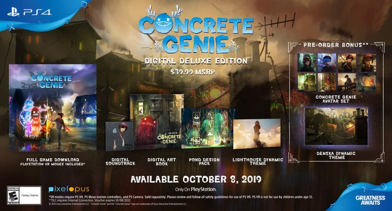 Concrete Genie looks stunning; October 8th release date confirmed 1