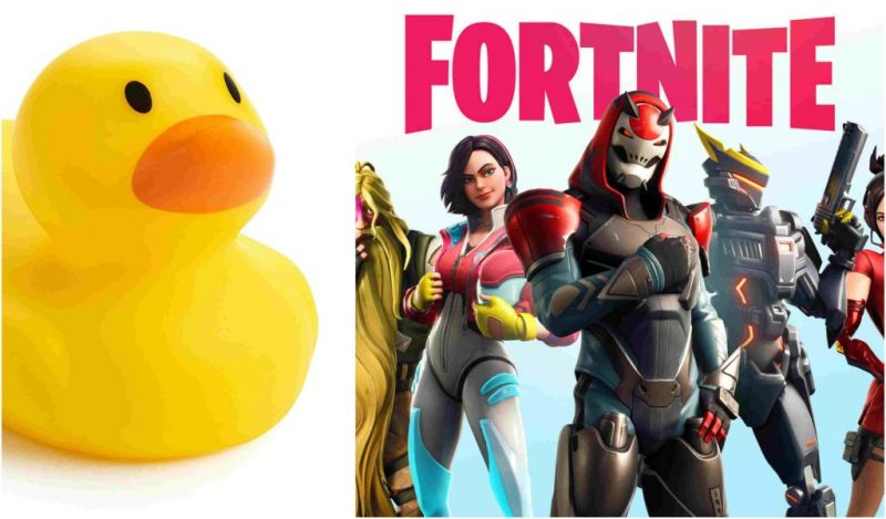 "Fortnite's ""Visit a giant beach umbrella and rubber duck"" Summer Challenge; what the duck? 1"