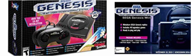 The Sega Genesis Mini will be delayed two weeks for Europe and Middle East 24