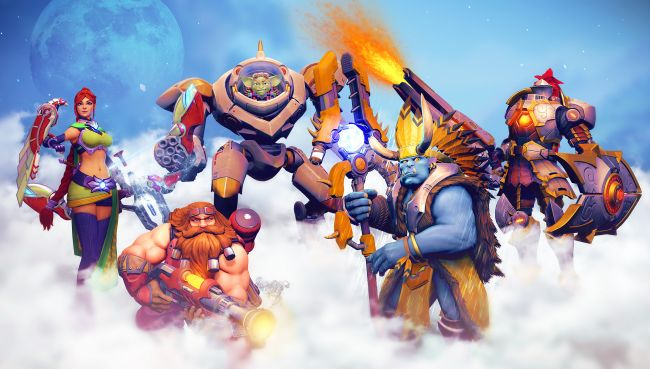 Paladins now has cross-play support with PS4 1